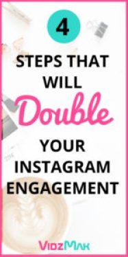 Double Instagram Engagement