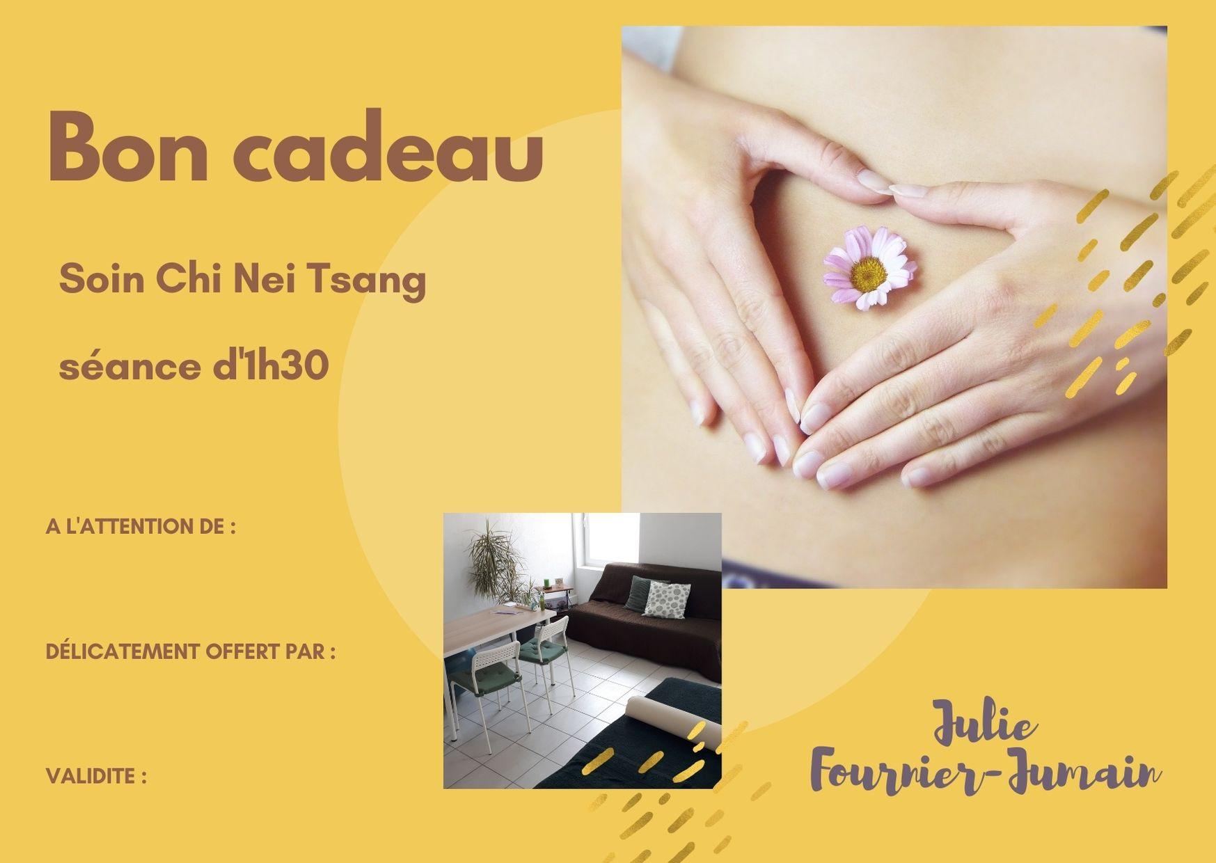 Bon cadeau massage Chi Nei Tsang