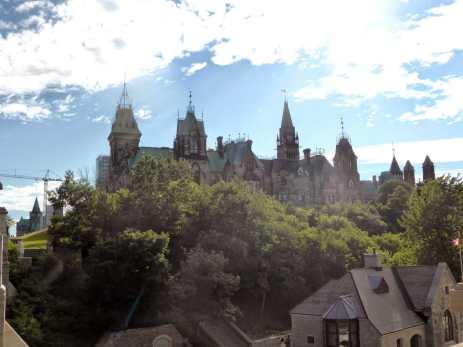 La colline du Parlement