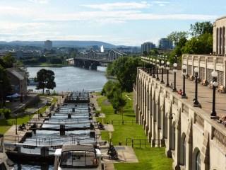 Le canal Rideau et ses écluses