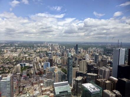 Vue de la CN Tower