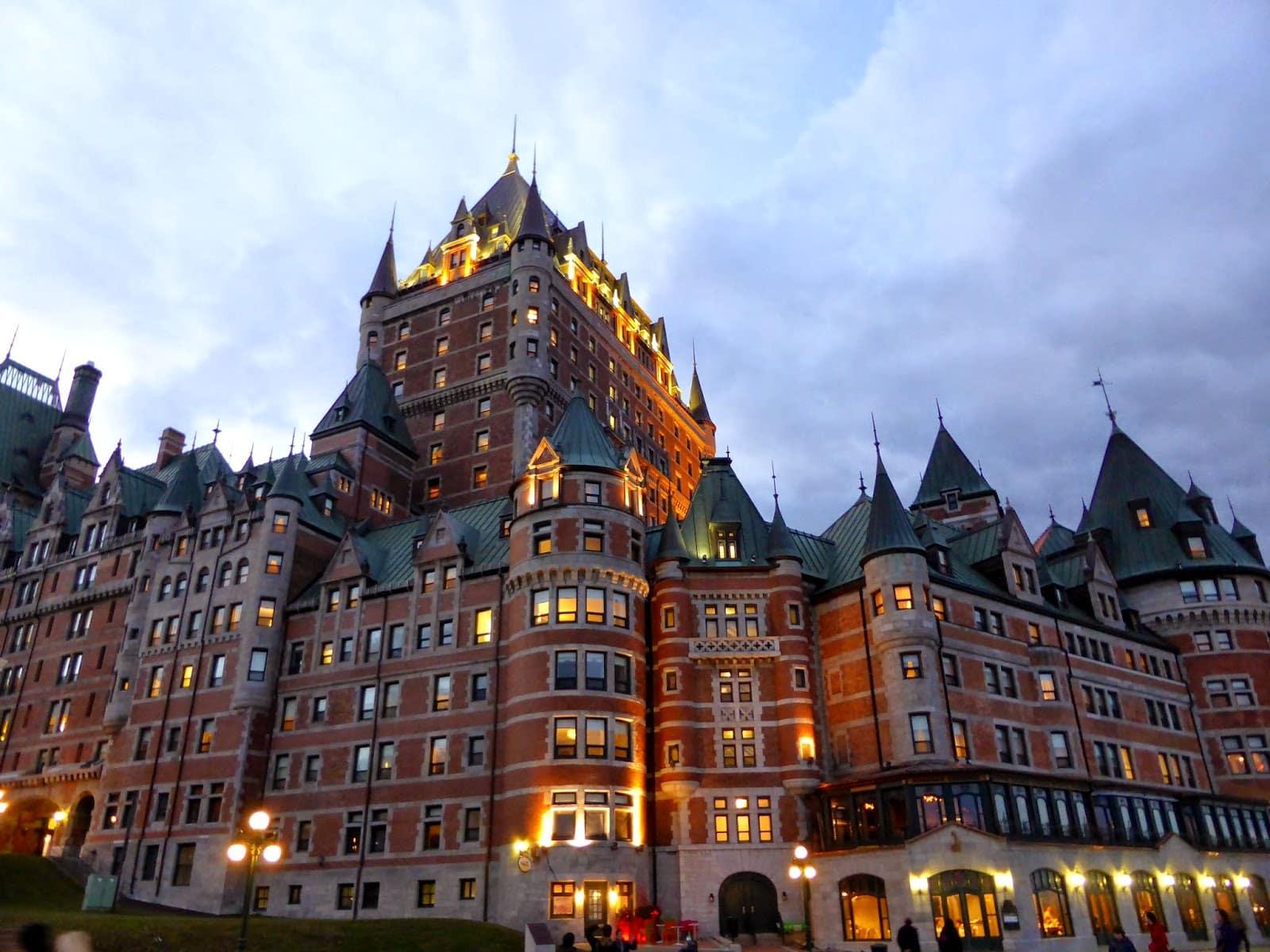 Un petit tour à Québec