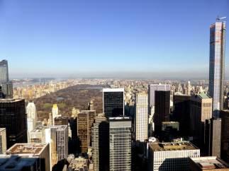 Vue sur Central Park du 70ème étage