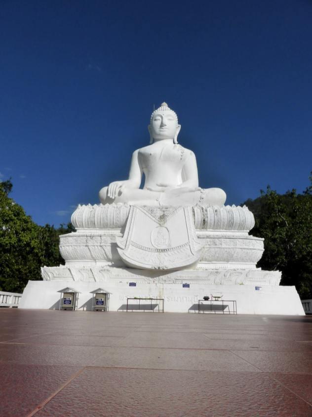 Bouddha blanc