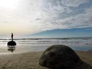Moeraki Boulders-île du Sud