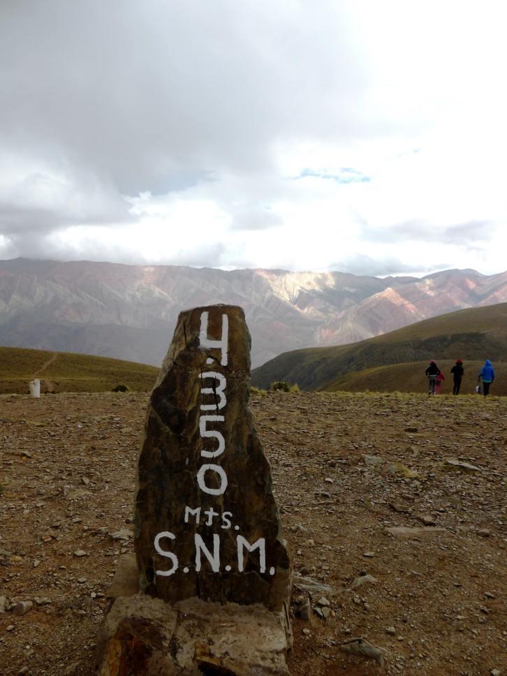 El Hornocal-Argentine en stop
