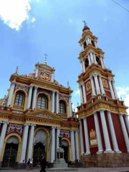 Iglesia San Francisco, Salta-Argentine en stop