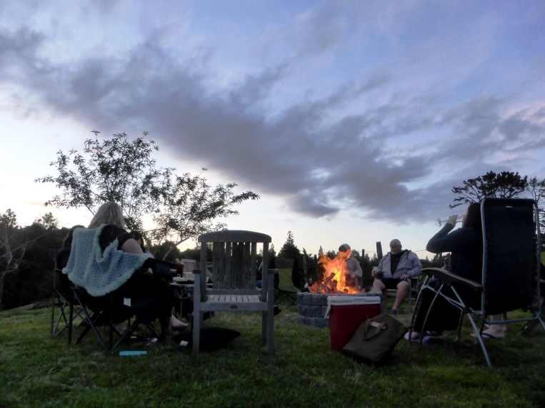 fire camp-île du Nord