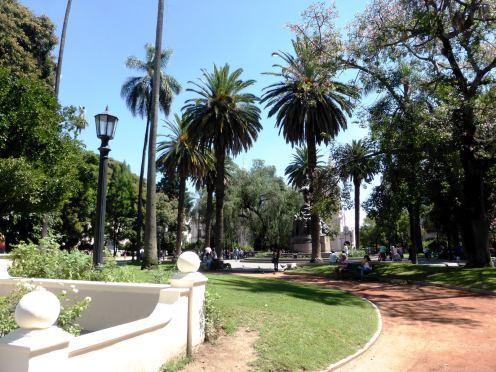 Plaza 9 de Julio, Salta-Argentine en stop