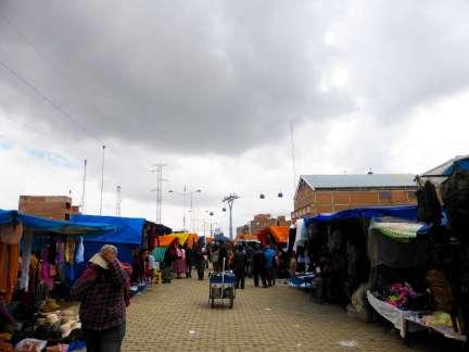Marché El Alto-Bolivie