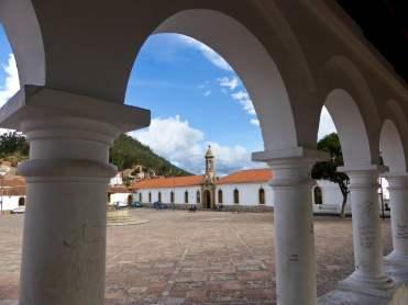 La Recoleta, Plaza Anzures y Mirador, Sucre-Bolivie