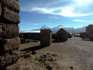 Village de Sajama-Bolivie