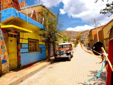 Rue de Tupiza-Bolivie