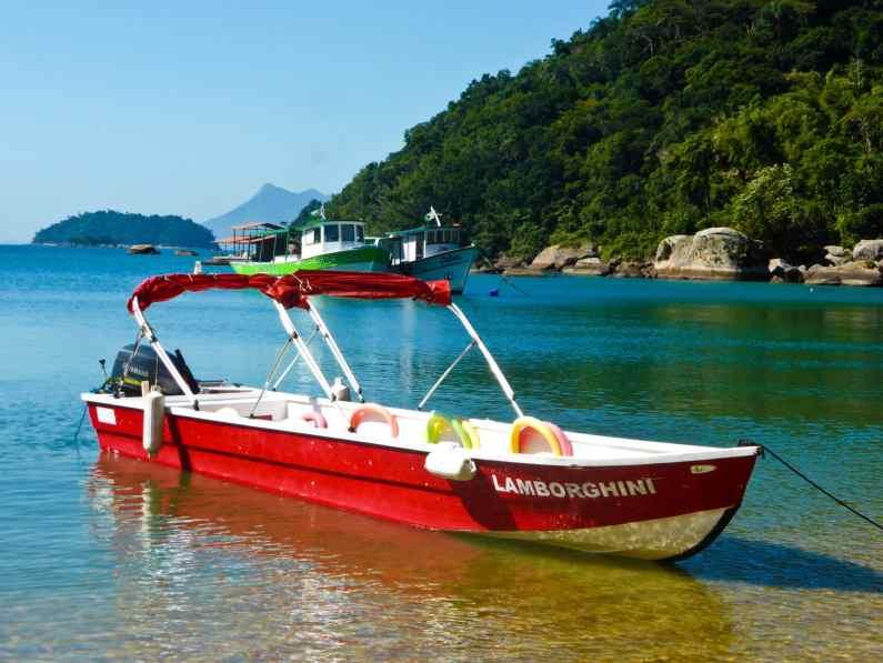 Bateau Ilha Grande-Brésil