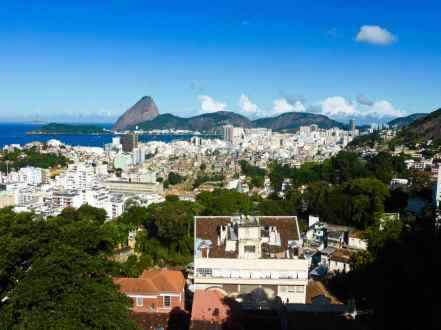 Vue de Santa Teresa-Rio de Janeiro-Brésil