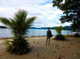 Praia do Jaquabara- Brésil