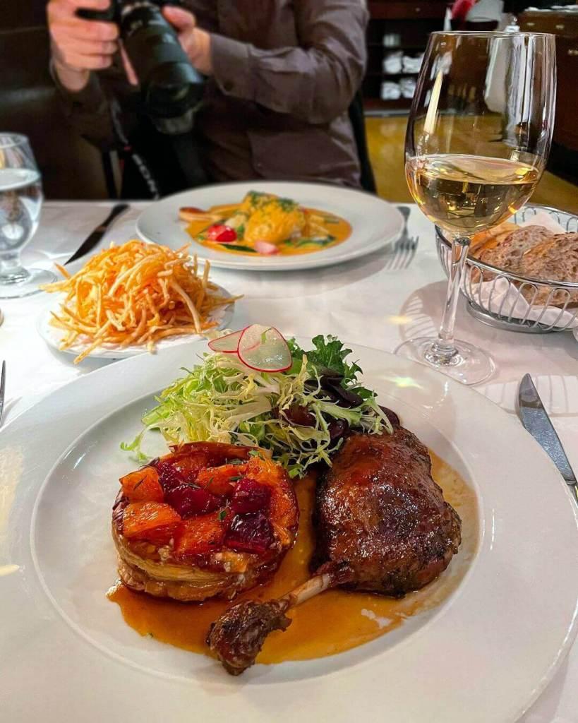 French Cuisine Le Crocodile Restaurant Francais