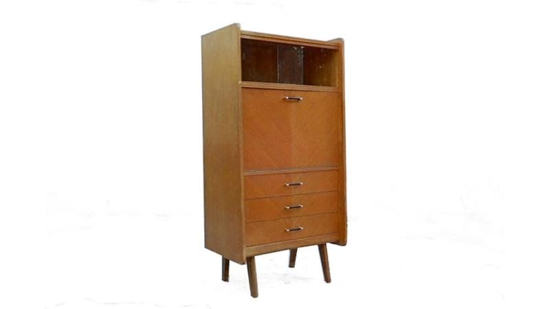 vintage 1950 bois massif clair vendu