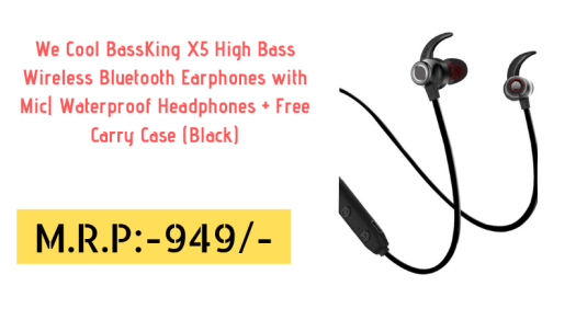 9d802dc1863 These are the best wireless Bluetooth earphones under 1000 are  ultracomfortable to wear for extended period of time.
