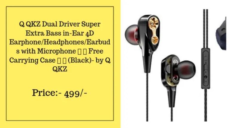 earphones under 1000 with extra bass