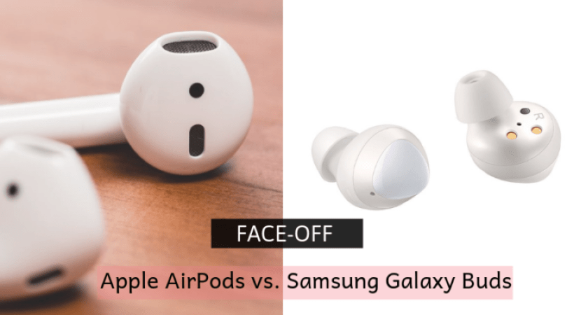 Apple AirPods vs. Samsung Galaxy Buds