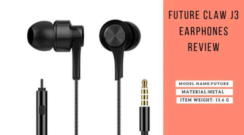 Future Claw J3 Earphones