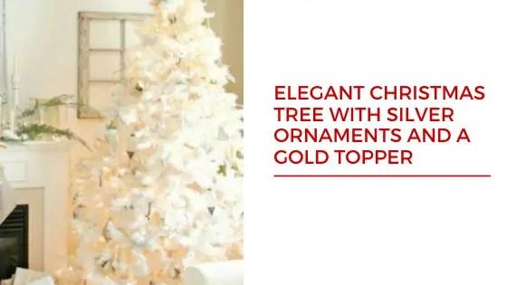 Snowy Christmas Tree decoration ideas