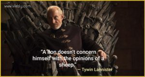 Tywin Lannister: Best Game of Thrones Quotes & When You Use Them in Real Life