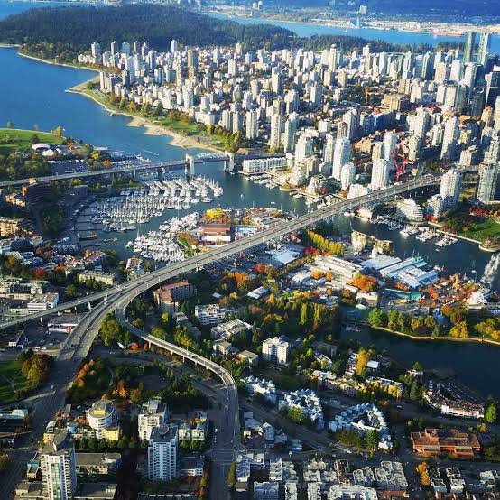 Top 5 cities in Canada, Vancouver, British Columbia
