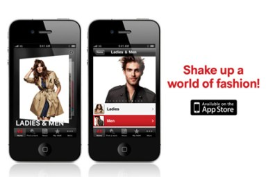 H&M app on iPhone - best shopping apps