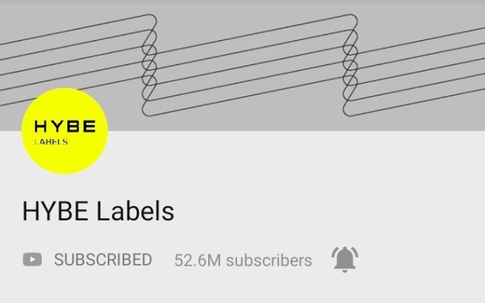 Hybe Labels: 50 Most Subscribed YouTube Channels Globally | Breaking Records