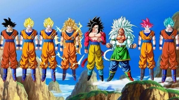 Super Saiyan Levels: All 17 Levels Ranked (Strongest to Weakest)