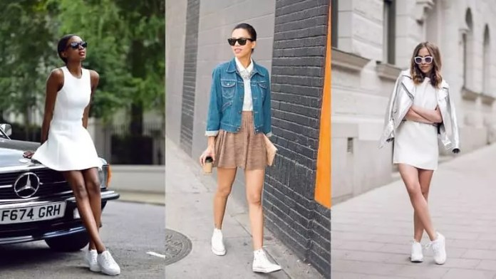styling sneakers: Sneakers vs Shoes