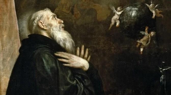 Saint Benoît – Sa sortie de ce monde et les signes qui l'accompagnaient
