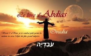Le livre d'ABDIAS - Ovadia