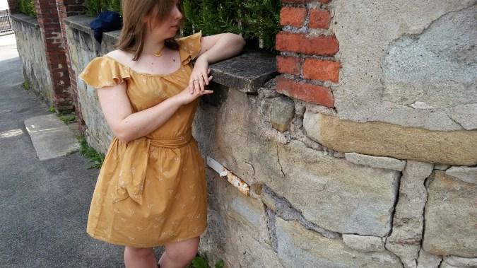 robe jaune morue 7