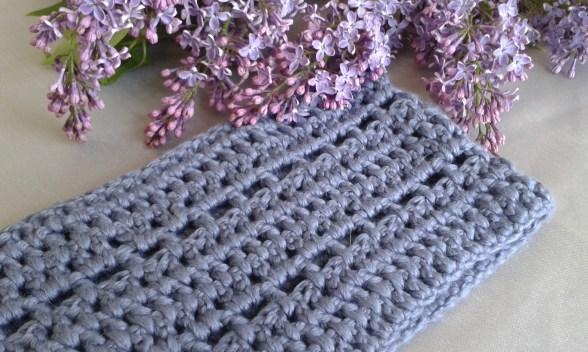 snood bleu chouette kit bride crochet morue 3