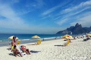 Playa de Ipanema, Rio de Janeiro, Brasil