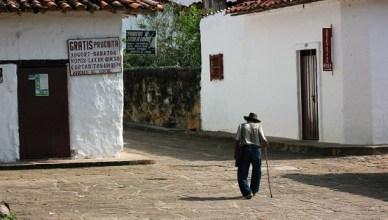 Abuelo en Guane, Colombia