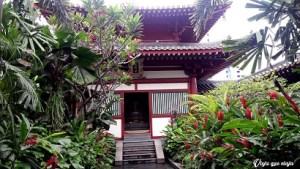 Templo del Diente de Buda en Singapur