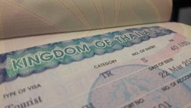 Visa de Tailandia
