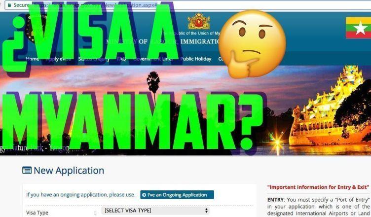 La visa a Myanmar es fácil