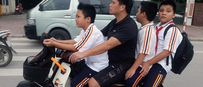 Vietnam y las motos