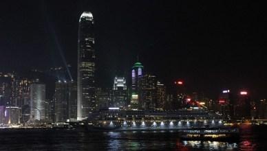 Hong Kong de noche