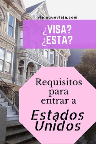 Cómo tramitar la visa o esta para estados unidos