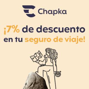 Recibe un descuento si compras tu seguro Chapka aquí