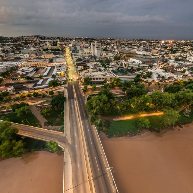 The Tamazula River in Culiacan