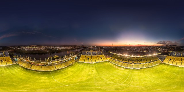 Banorte Stadium of the Dorados of Sinaloa (local soccer team).