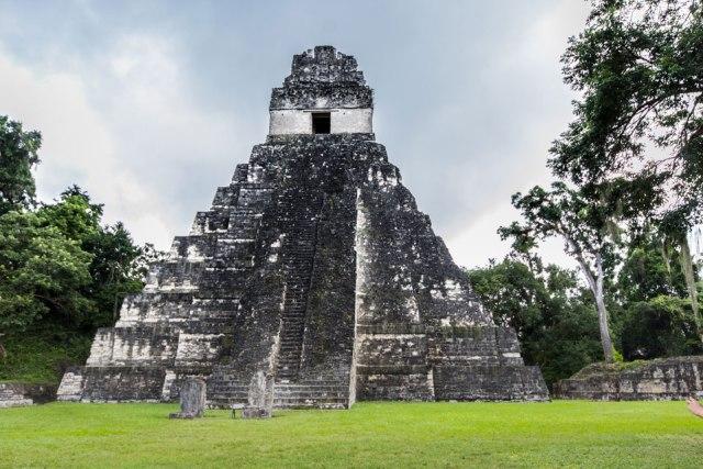Tikal Guatemala Tempel des großen Jaguars (Templo 1)