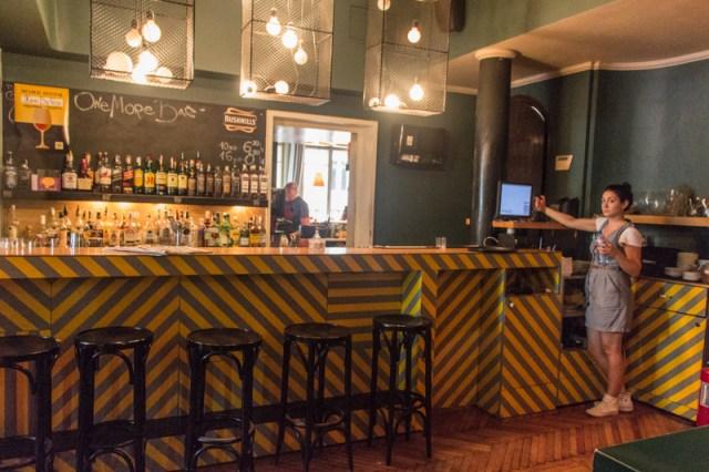 One more Bar Sofia - tagsüber Café und abends Bar